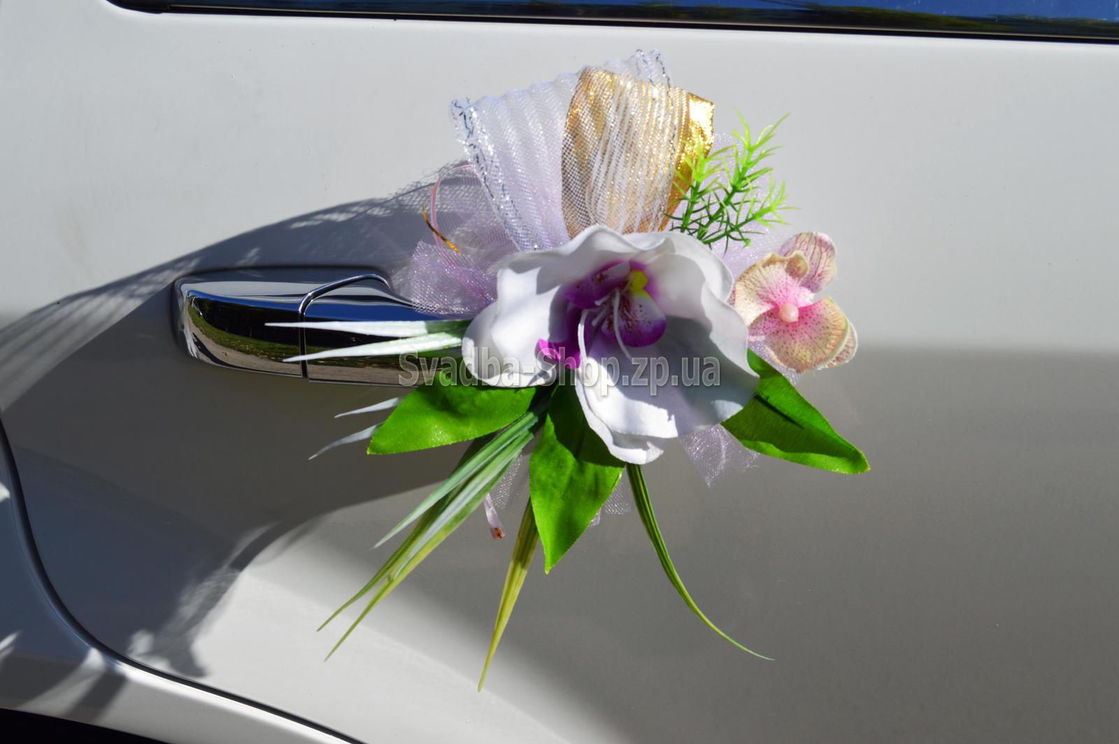Банты на ручку машины своими руками фото