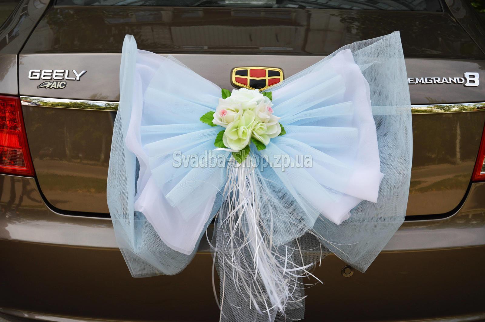 Банты для свадебной машины своими руками 100