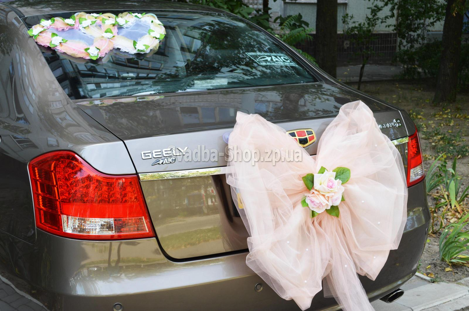 Банты на свадебные машины своими руками 36