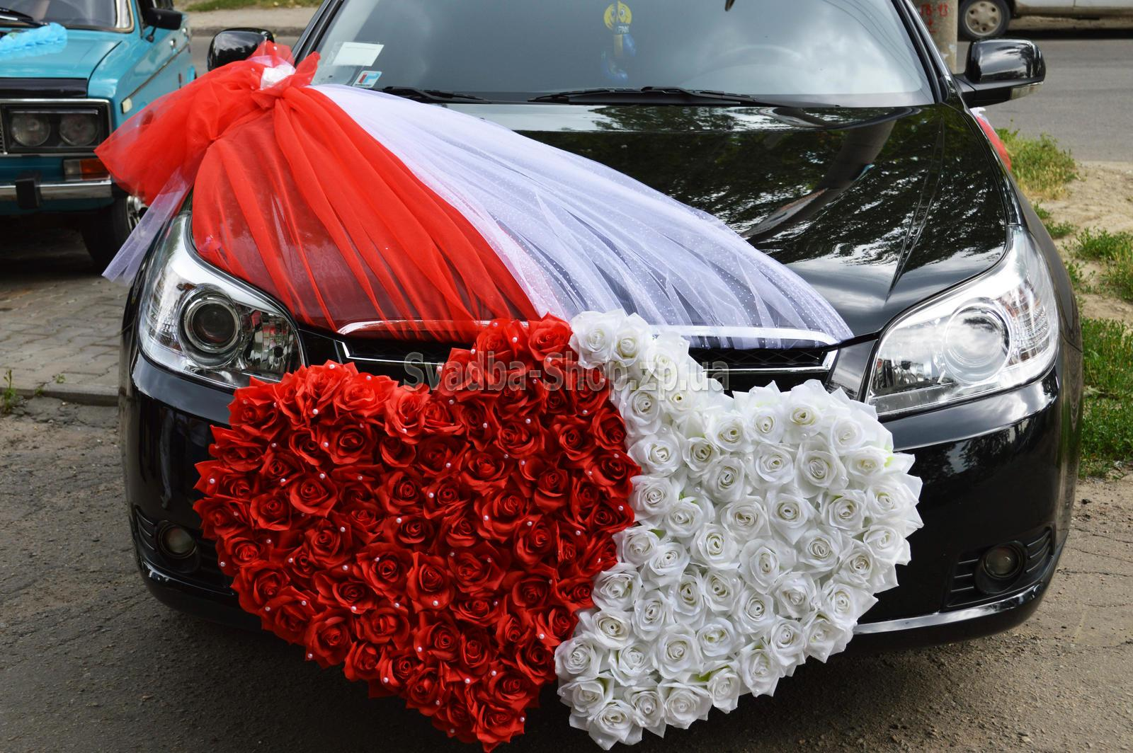 Как делать украшения на машину на свадьбу своими руками 6