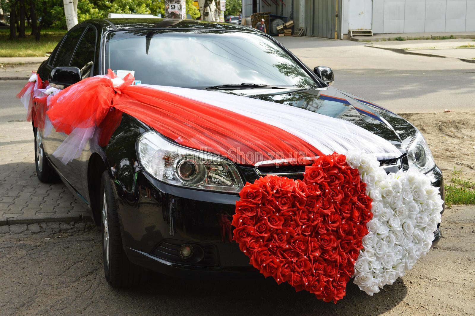 Украшения для свадебного автомобилей фото